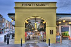 New Orleans French Market - Reminds me of the produce alley of the West Side Market in Cleveland.
