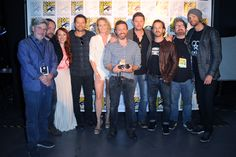 Comic Con Supernatural cast