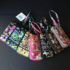 New Vera Bradley Carry It All Wristlet Clutch Organizer Phone Holder Wallet Case