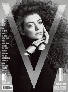 Lorde's Hair Is AMAZING on the cover of V Magazine's Music Issue