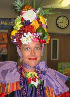 Carmen Miranda hat costume
