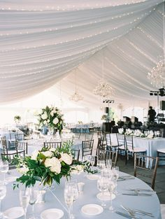 NYC's most sought after professional wedding planners and consultants. Serving NYC, NJ, Philadelphia and Delaware - Kyle Michelle Weddings Tent Reception, Wedding Reception Decorations, Wedding Receptions, Centerpieces, Centerpiece Ideas, Local Photographers, Tent Wedding, Philadelphia Wedding, Tent Camping