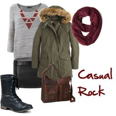 """""""Casual Rock"""" by adelines77 on Polyvore"""