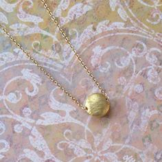 Tiny Gold Moon Sun Charm Chain Necklace DJStrang by DJStrang