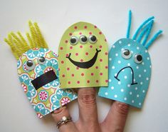 GCD Studios: Crafty Kids Week: Finger Puppets