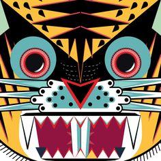 Tigre por Erick Torres