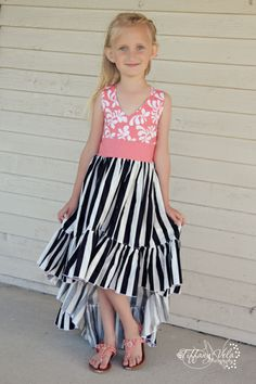 Create Kids Couture has joined the hi-low craze with our new Hope sewing pattern! Hope features a new bodice and a fun hi-low skirt your girl will love to wear.