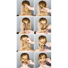 Est-il possible d'être bien coiffée sans y passer des heures ? Oui et doublement oui ! Avec quelques mouvements bien maîtrisés, un nuage de laque et quelques mèches libres, on est joliment parée pour la journée ! Pour manier à votre tour la simplicité avec dextérité, suivez nos tips pour faire en deux temps trois mouvements une coiffure effortless. http://www.elle.fr/Beaute/Cheveux/Coiffure/coiffures-rapides-2944860