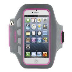 Belkin EaseFit Plus Armband For New Apple iPhone 5 (Purple)