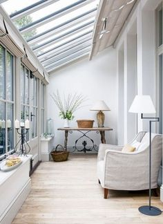 18 Small Conservatory Interior Design Ideas - - Now, a conservatory is not only used for those who love to have fresh plants in their home but also to get a perfect relaxing room. If you have some left spaces in your home, it is a good idea to make. Design Loft, Layout Design, House Design, Design Ideas, Patio Design, Wood Design, Design Design, Garden Design, Modern Design