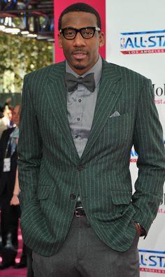 Amare Stoudemire, NBA Baller w/crazy style