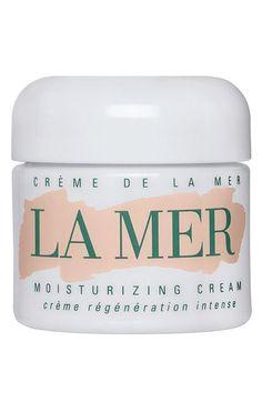 Crème de la Mer Moisturizing Cream available at #Nordstrom as a night moisturizing cream