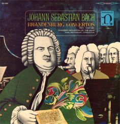 Johann Sebastian Bach - Chamber Orchestra Of The Saar* / Karl Ristenpart - Brandenburg Concertos (Vinyl, LP, Album) at Discogs