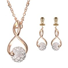 Like and Share if you want this  2016 New Full Rhinestone Crystal Ball Necklace Earrings Women Best Gift Jewelry Sets For Party Jewelry Sets For Women     Tag a friend who would love this!     FREE Shipping Worldwide     Buy one here---> http://jewelry-steals.com/products/2016-new-full-rhinestone-crystal-ball-necklace-earrings-women-best-gift-jewelry-sets-for-party-jewelry-sets-for-women/    #gold_earrings