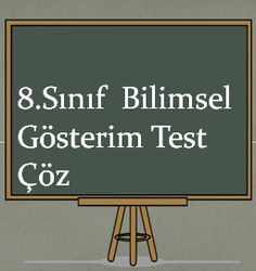 8.Sınıf Bilimsel Gösterim Test Çöz