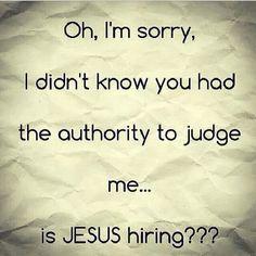 Jesus hiring?
