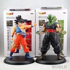 New Dragonball Z Dragon Ball DBZ Anime Son Goku Piccolo super saiyan 20cm VOL 5 Action DX Figure Toys 2pcs/set
