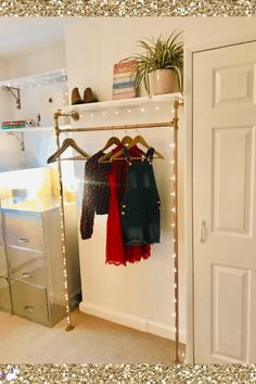 bedroom makeover on a budget - This small bedrrom was transformed from a cluttered mess to a stylish space with a DIY bed, DIY clothes rail & clever storage Home Decor Bedroom, Diy Home Decor, Bedroom Ideas, Budget Bedroom, Cozy Bedroom, Farmhouse Style Decorating, Farmhouse Decor, Ikea Billy Bookcase Hack, Trendy Home Decor