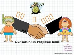 Our Business Proposal Book, by Amy Want, Yong Seng & Chloe Koay Amy Wang, Book Creator, Business Proposal, International School, Teaching Resources, Chloe, Student, Comics, Books