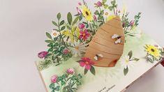 Flora: A Botanical Pop-Up Book - YouTube Floral Fascinators, Paper Pop, Paper Engineering, Natural World, Pop Up, Paper Crafts, Design Inspiration, Make It Yourself, Flowers