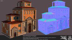 Rampage Kinect Prototype Building, Pierre FLEAU on ArtStation at https://www.artstation.com/artwork/rampage-kinect-prototype-building-23ac7ee7-7a28-4bc6-a588-dd9d52479dea