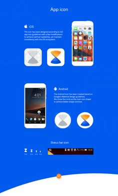 Visual brand identity design for Xender - file sharing multi-platform product with more that 80 millions activated users. Brand Identity Design, Branding Design, Logo Design, Status Bar Icons, Android Icons, Google Material Design, Ios App Icon, Design Guidelines, Cata