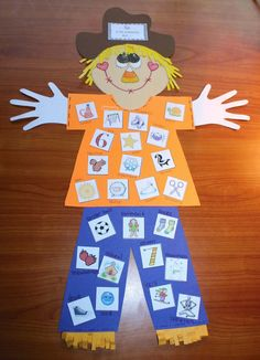 Classroom Freebies: Common Core Scarecrows