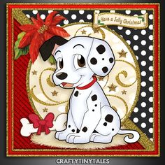 Spots For Christmas Card Front Kit 5 by Maria Vieira Singles kits sold from Bumper kits: Spots For Christmas Card Front Bumper K.One & Two…