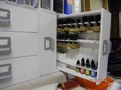 Saidy Jane's Gallery: Innovation!  Great idea for storage drawers