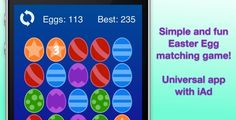 Easter Egg Matching Puzzle Game with iAd - https://codeholder.net/item/mobile/easter-egg-matching-puzzle-game-iad