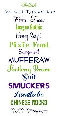 WhimsiKel: Fun with Fonts 2
