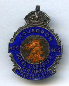 RCAF - 403 Squadron (Kings Crown)