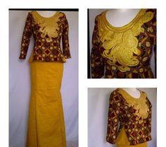 Creative Aso Ebi Skirt and Blouse Design - DeZango Fashion Zone