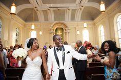 Stylish Nigerian Wedding in Baltimore, Maryland: Wendy + Eddie