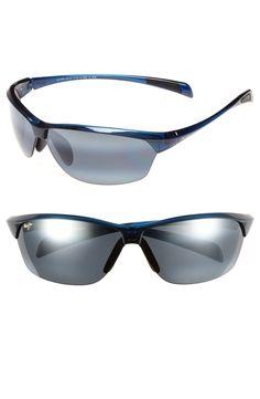 b9d3ac2ea601 Women's Maui Jim Hot Sands 71Mm Polarizedplus2 Sunglasses - Blue/ Neutral