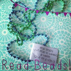 Reading fun with Read Beads!!!