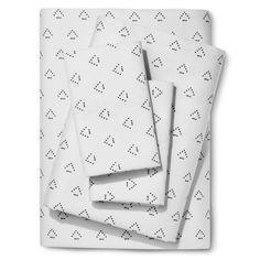 Sheet Set (California King) Dotted Triangle 300 Thread Count - Nate Berkus