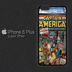Captain America Comic, Iphone 6 Plus Case, 6 Case, Creative Design, Hong Kong, Plastic, Phone Cases, Comics, Studio