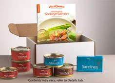 VITAL CHOICE Canned Seafood Sampler http://www.vitalchoice.com/
