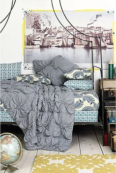 love the anthropologie bed spreads!