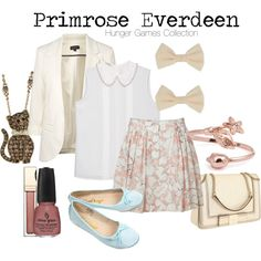 THE HUNGER GAMES : Primrose Everdeen, created by captainku on Polyvore