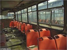 Buses, History, Classic Trucks, Abandoned Places, Ruins, Boards, Photos, Historia