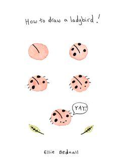 bugs: By Ellie Bednall http://elliebee-illustration.tumblr.com/