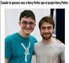 #chiste #humor parecido a Harry Potter
