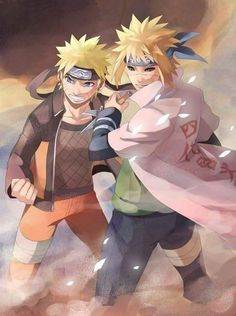 """is for Naruto to grow up treated like a hero."""" As he fought the Kyuubi (Naruto & Minato) Naruto Shippuden Sasuke, Anime Naruto, Minato Y Naruto, Gaara, Kakashi, Manga Anime, Sakura Uchiha, Super Anime, Naruto Family"""