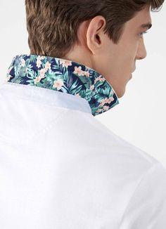 Print Colour Short Sleeve Polo Shirt - Polo & Rugby Shirts - Clothing - Men | Hackett