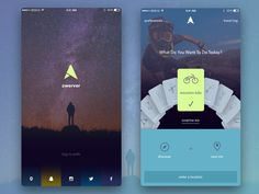 Zwerver Adventure App by Gregory - Dribbble