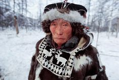 Image of vitally elrika, an elderly even reindeer herder from northern evensk. by ArcticPhoto Character Bank, Peter The Great, People Of Interest, Arctic Circle, People Of The World, First Nations, Africa, Culture, Canada