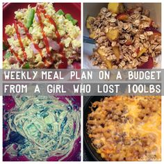 Meal Plan plans designed from a girl who's lost Recipes are lightened up versions of options the whole family will love. Aldi Meal Plan, Diet Meal Plans, Meal Prep, Healthy Diet Plans, Healthy Eating, Healthy Recipes, Healthy Meals, Skinny Recipes, Diet Recipes