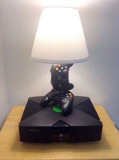 Microsoft Original Xbox Desk Lamp Light Sculpture